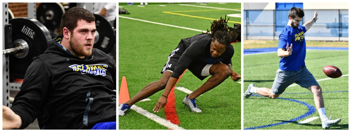 UD Draft Prospects Bring Their Best On Delaware Pro Day