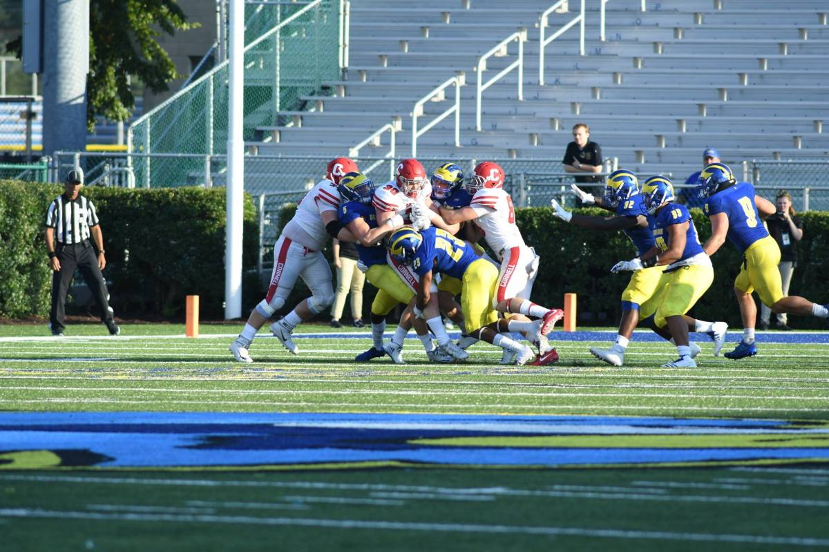 Delaware's Defense & RB Kane's 3 TDs Gives Hens a 41-14 Win Vs Cornell